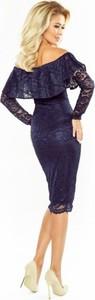 Granatowa sukienka MORIMIA