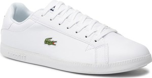 Lacoste Sneakersy Graduate Bl 1 SMA 737SMA005321G Biały