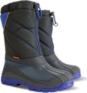 Buty dziecięce zimowe Demar na zamek z wełny