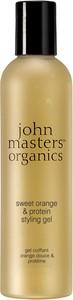 John Masters Sweet Orange & Silk   Słodka pomarańcza i jedwab żel stylizujący 237ml