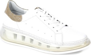 Buty sportowe CheBello sznurowane ze skóry