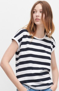 T-shirt Reserved w stylu casual z okrągłym dekoltem