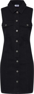 Czarna sukienka Noisy May z bawełny