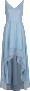 Niebieska sukienka VISSAVI mini