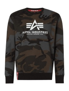 Bluza Alpha Industries z bawełny w militarnym stylu