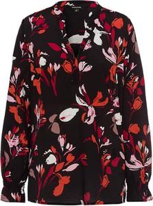 Bluzka More & More w stylu casual z dekoltem w kształcie litery v z długim rękawem