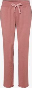 Różowe spodnie sportowe Marie Lund w stylu casual