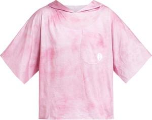 Różowa bluzka dziecięca Robert Kupisz z bawełny dla dziewczynek