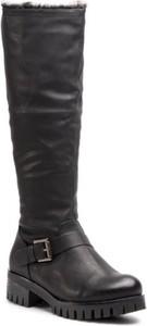 Czarne kozaki Jenny Fairy przed kolano