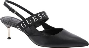 Czółenka Guess w stylu klasycznym ze spiczastym noskiem z klamrami