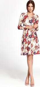 Sukienka Nife mini z długim rękawem
