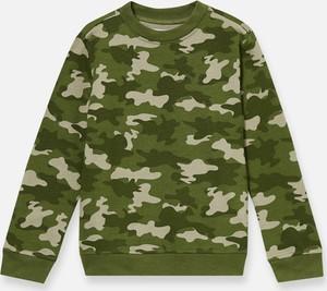 Zielona bluza dziecięca Sinsay