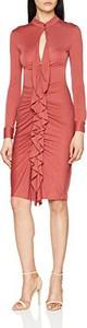 Różowa sukienka Intropia