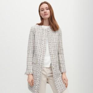 Płaszcz Reserved w stylu casual z tkaniny