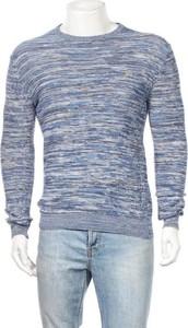Niebieski sweter Farah w stylu casual