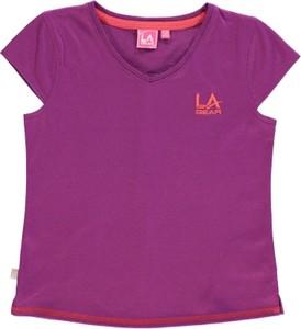 Fioletowa koszulka dziecięca LA Gear