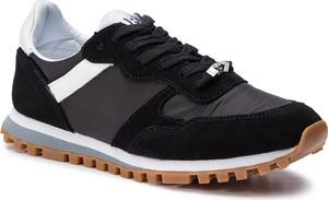 Buty sportowe Liu-Jo z zamszu sznurowane