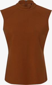 Bluzka comma, bez rękawów z golfem w stylu casual