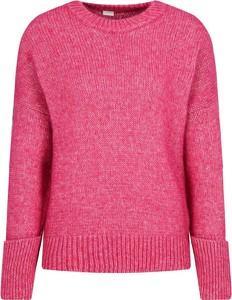 Różowy sweter Hugo Boss w stylu casual