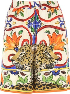 Szorty Dolce & Gabbana z jedwabiu