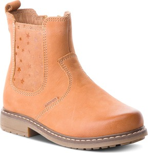 Buty dziecięce zimowe Lasocki Kids z nubuku