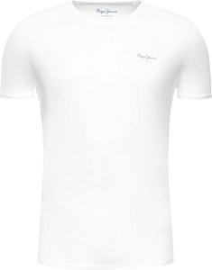 T-shirt Pepe Jeans z krótkim rękawem z bawełny