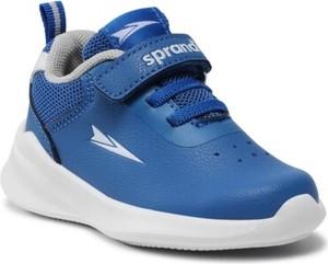 Niebieskie buty sportowe dziecięce Sprandi dla chłopców