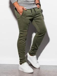 Zielone spodnie sportowe Ombre w stylu casual z dresówki