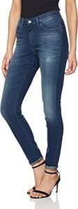 Dżinsy wrangler high rise skinny dla pań vintage blue - skinny 28w / 32l