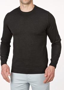 Czarny sweter Lanieri z wełny