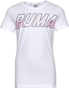Bluzka dziecięca Puma z dżerseju