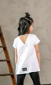 Bluzka dziecięca Mashmnie z bawełny dla dziewczynek