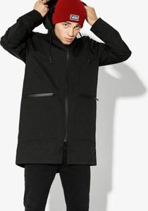 Czarna kurtka Confront w stylu casual