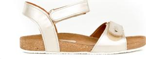 Sandały Zapato z płaską podeszwą ze skóry