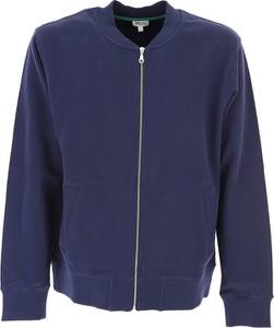 Niebieska bluza Kenzo z bawełny w stylu casual