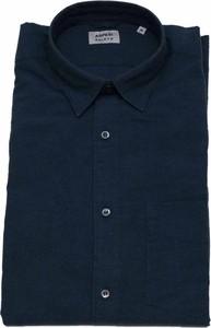 Niebieska koszula Aspesi z długim rękawem