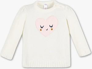Sweter Baby Club dla dziewczynek z dzianiny