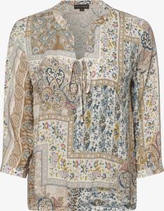 Bluzka Franco Callegari z długim rękawem w stylu boho