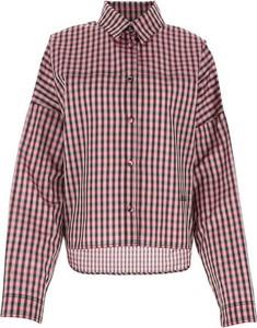 Brązowa koszula Philosophy di Lorenzo Serafini z kołnierzykiem w stylu casual