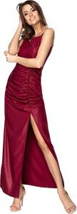 Sukienka Ptakmoda.com wyszczuplająca bez rękawów maxi