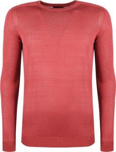 Czerwony sweter Antony Morato w stylu casual