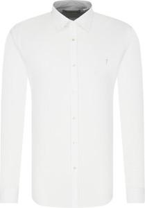 Koszula Trussardi Jeans z długim rękawem w stylu casual z lnu