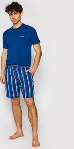 Niebieska piżama Calvin Klein Underwear