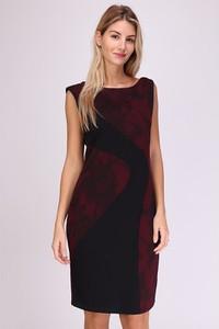 Sukienka Revd'elle mini z okrągłym dekoltem bez rękawów