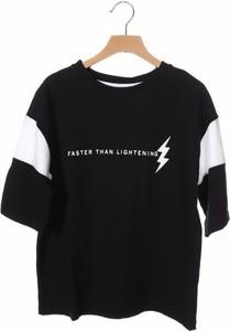 Czarna koszulka dziecięca Outfit