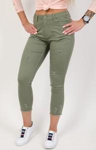 Zielone spodnie Olika