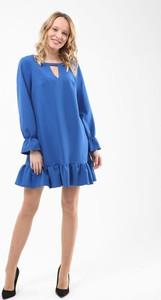 Niebieska sukienka Pretty Girl