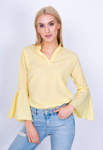 Żółta bluzka Zoio z bawełny