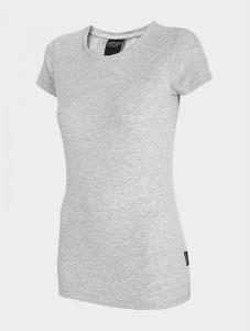 T-shirt Outhorn w sportowym stylu z krótkim rękawem z okrągłym dekoltem
