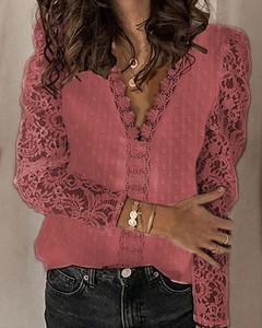 Czerwona bluzka Kendallme